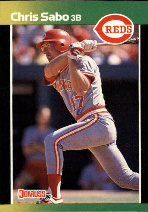 1989 Donruss Baseball's Best #222 Chris Sabo