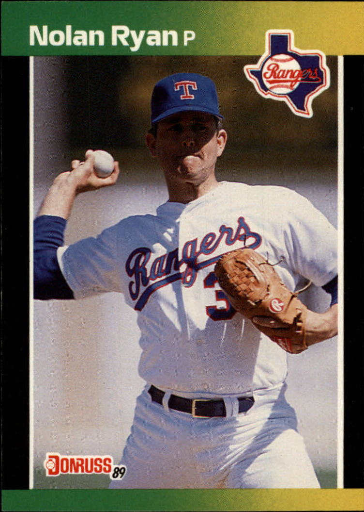 1989 Donruss Traded #19 Nolan Ryan