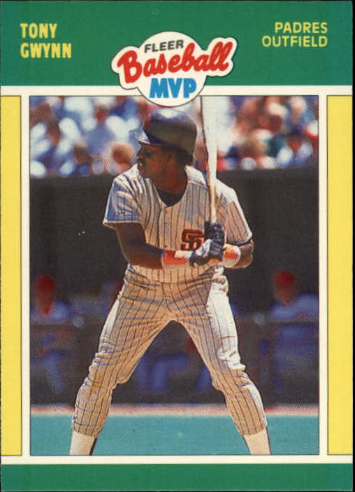 1989 Fleer Baseball MVP's #17 Tony Gwynn