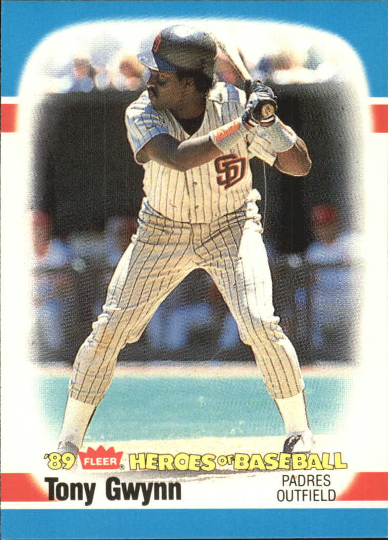 1989 Fleer Heroes of Baseball #20 Tony Gwynn