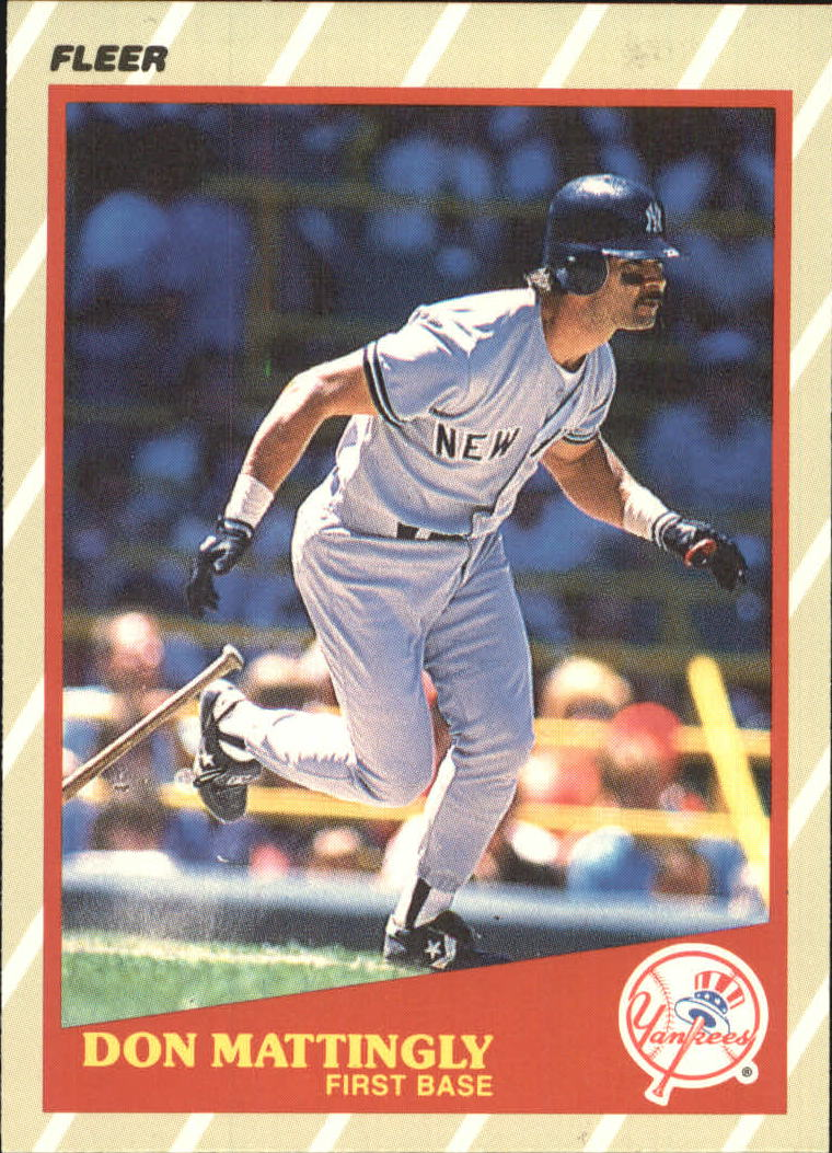 1989 Fleer Superstars #29 Don Mattingly