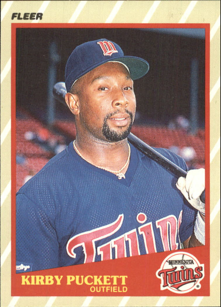 1989 Fleer Superstars #33 Kirby Puckett