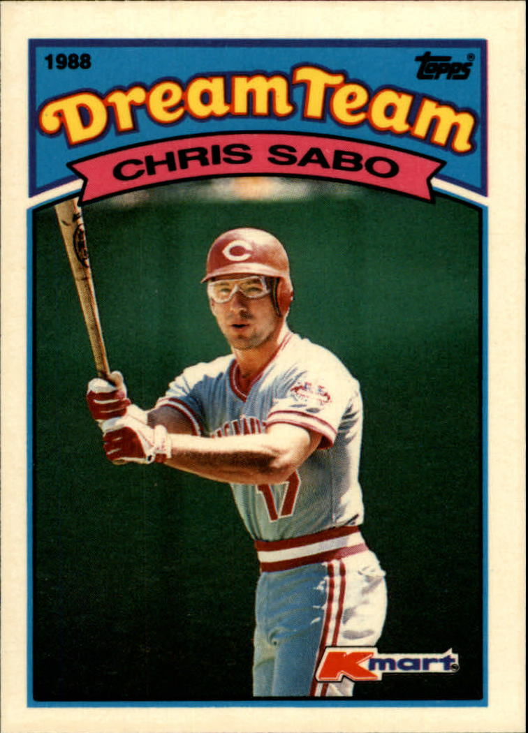 1989 K-Mart #3 Chris Sabo