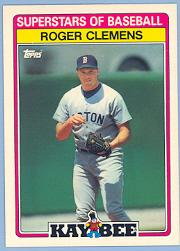 1989 Kay-Bee #7 Roger Clemens