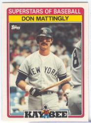 1989 Kay-Bee #20 Don Mattingly