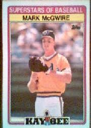 1989 Kay-Bee #21 Mark McGwire