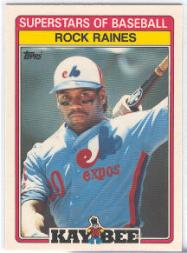 1989 Kay-Bee #25 Tim Raines