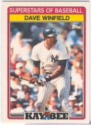 1989 Kay-Bee #32 Dave Winfield