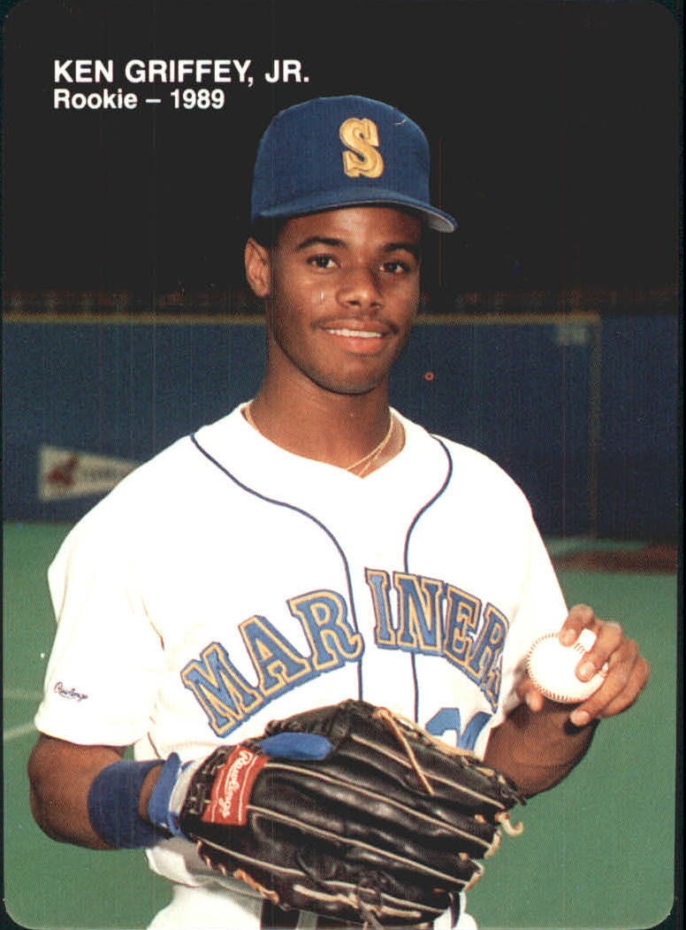 1989 Mother's Griffey Jr. #2 Ken Griffey Jr./(Baseball in hand)