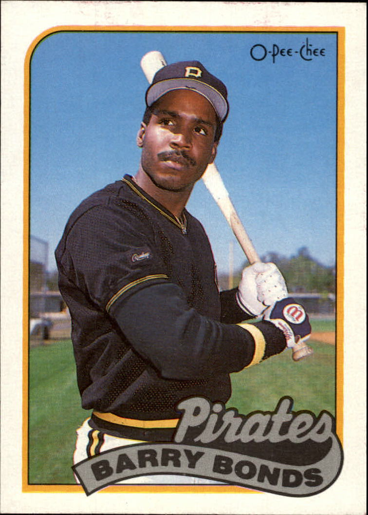1989 O-Pee-Chee #263 Barry Bonds