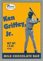 1989 Pacific Griffey Candy Bar #1C Ken Griffey Jr./(Yellow background)