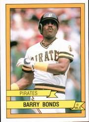 1989 Panini Stickers #172 Barry Bonds