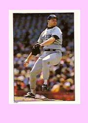 1989 Panini Stickers #249 Roger Clemens