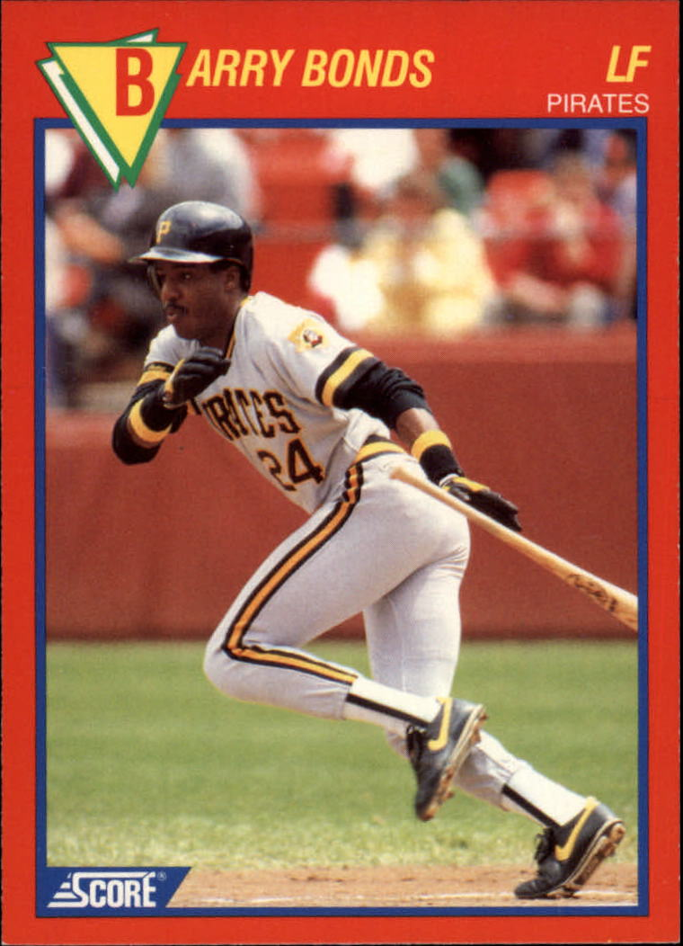 1989 Score Hottest 100 Stars #31 Barry Bonds