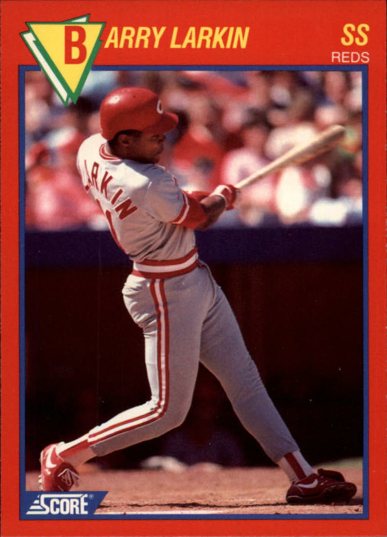 1989 Score Hottest 100 Stars #52 Barry Larkin