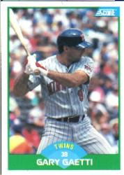 1989 Score #8 Gary Gaetti