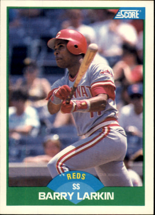 1989 Score #31 Barry Larkin