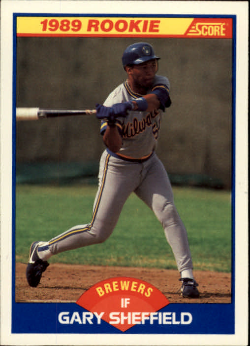 1989 Score #625 Gary Sheffield RC