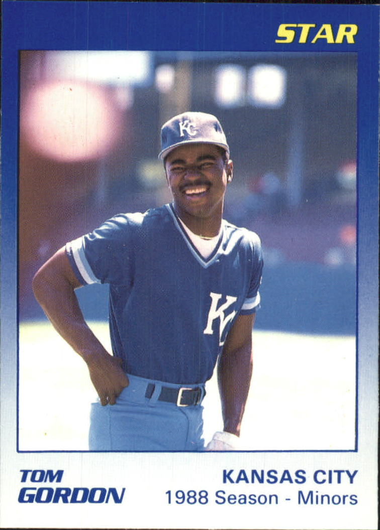 1989 Star Gordon #5 Tom Gordon/1988 Season - Minors