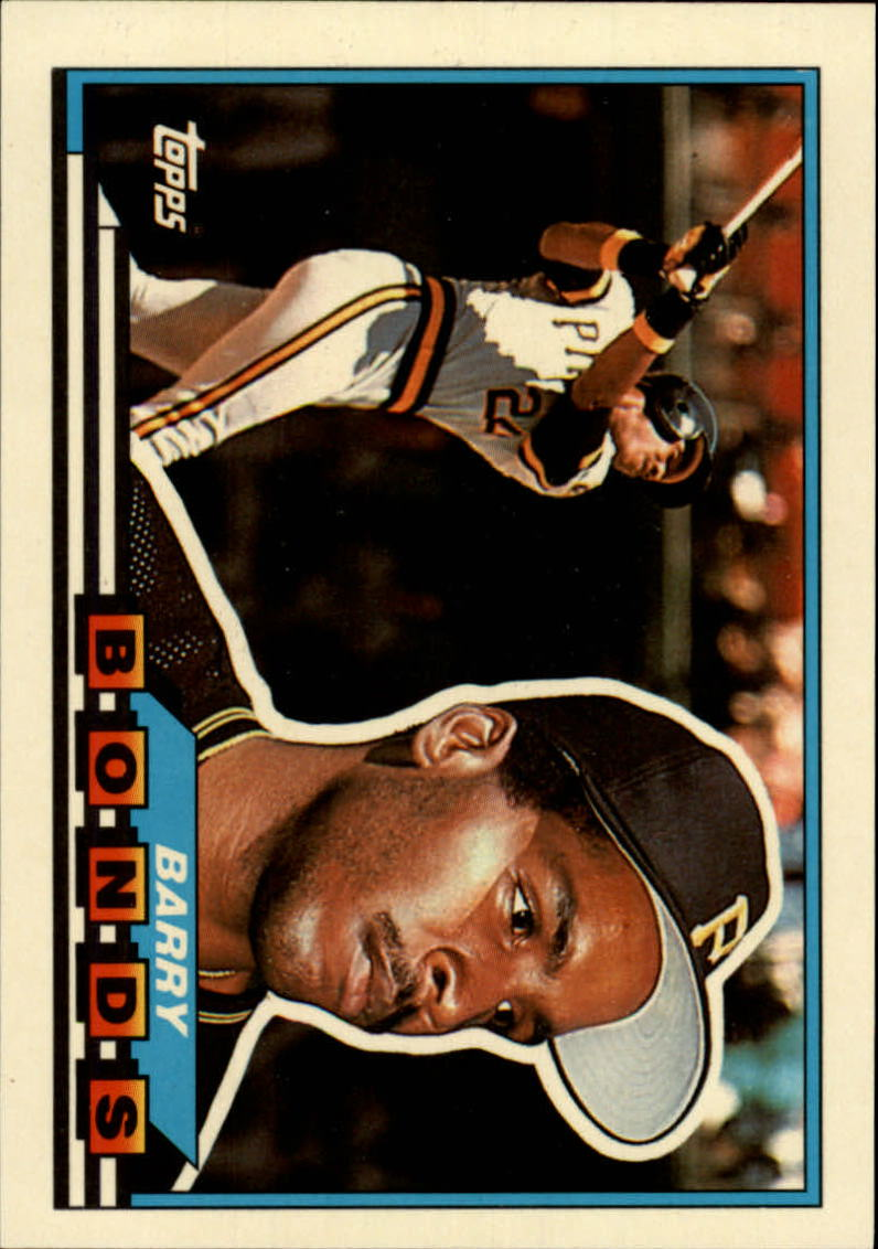 1989 Topps Big #5 Barry Bonds