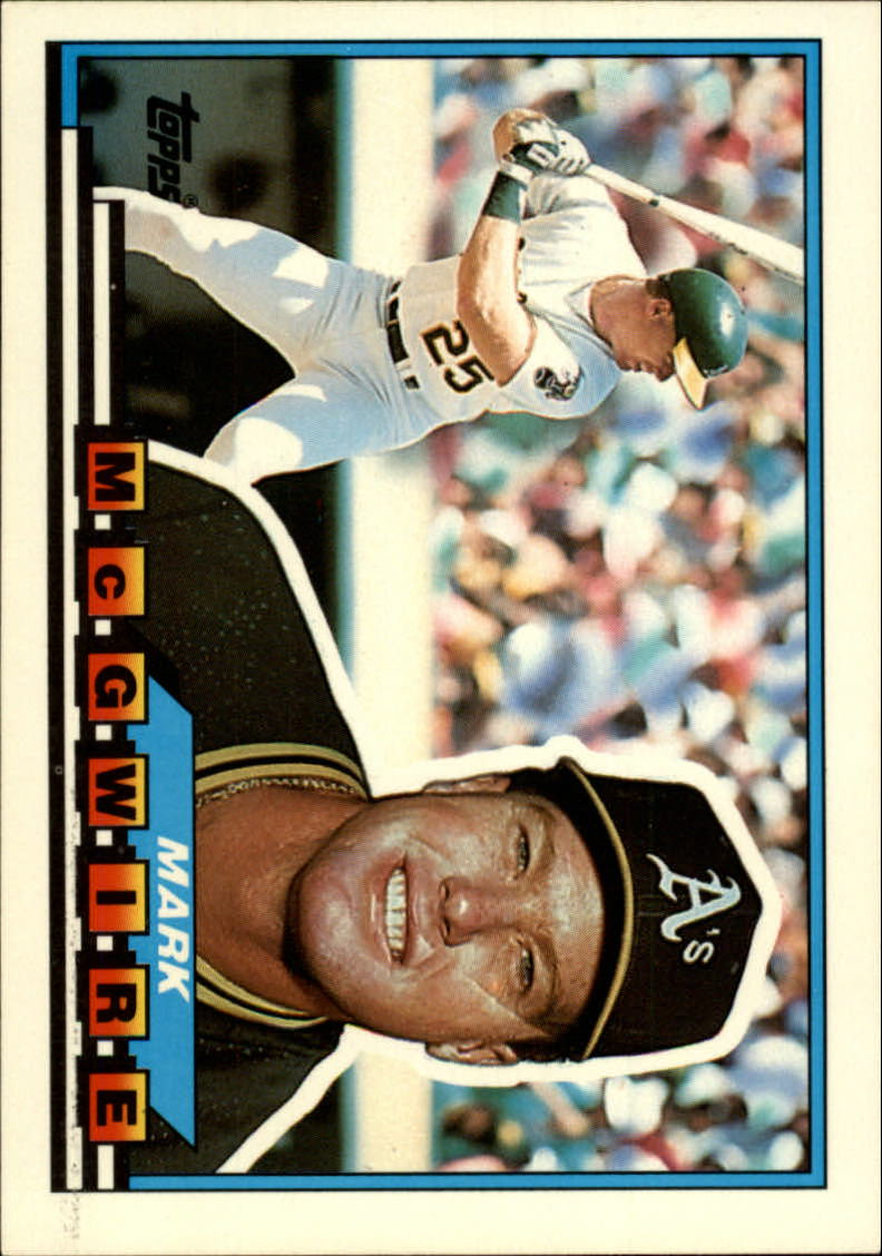1989 Topps Big #34 Mark McGwire