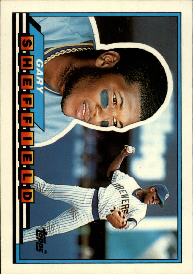 1989 Topps Big #55 Gary Sheffield