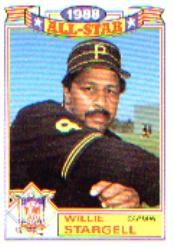1989 Topps Glossy All-Stars #22 Willie Stargell CAPT