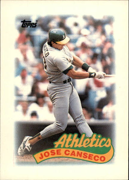 1989 Topps Mini Leaders #68 Jose Canseco