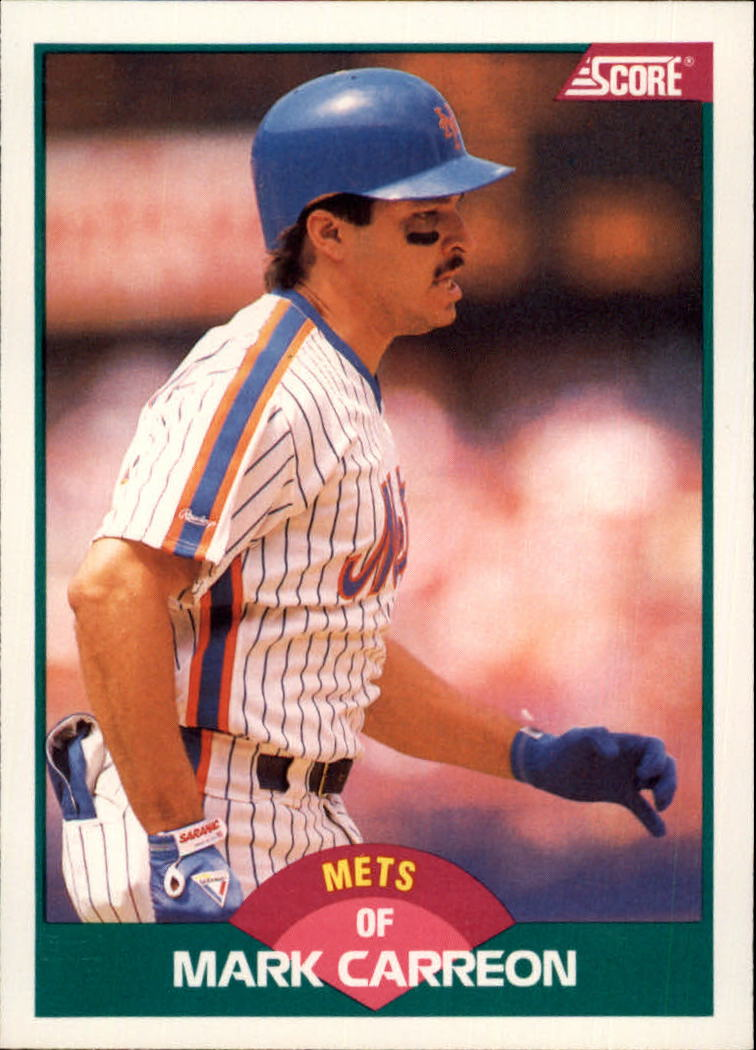 1989 Score Rookie/Traded #108T Mark Carreon