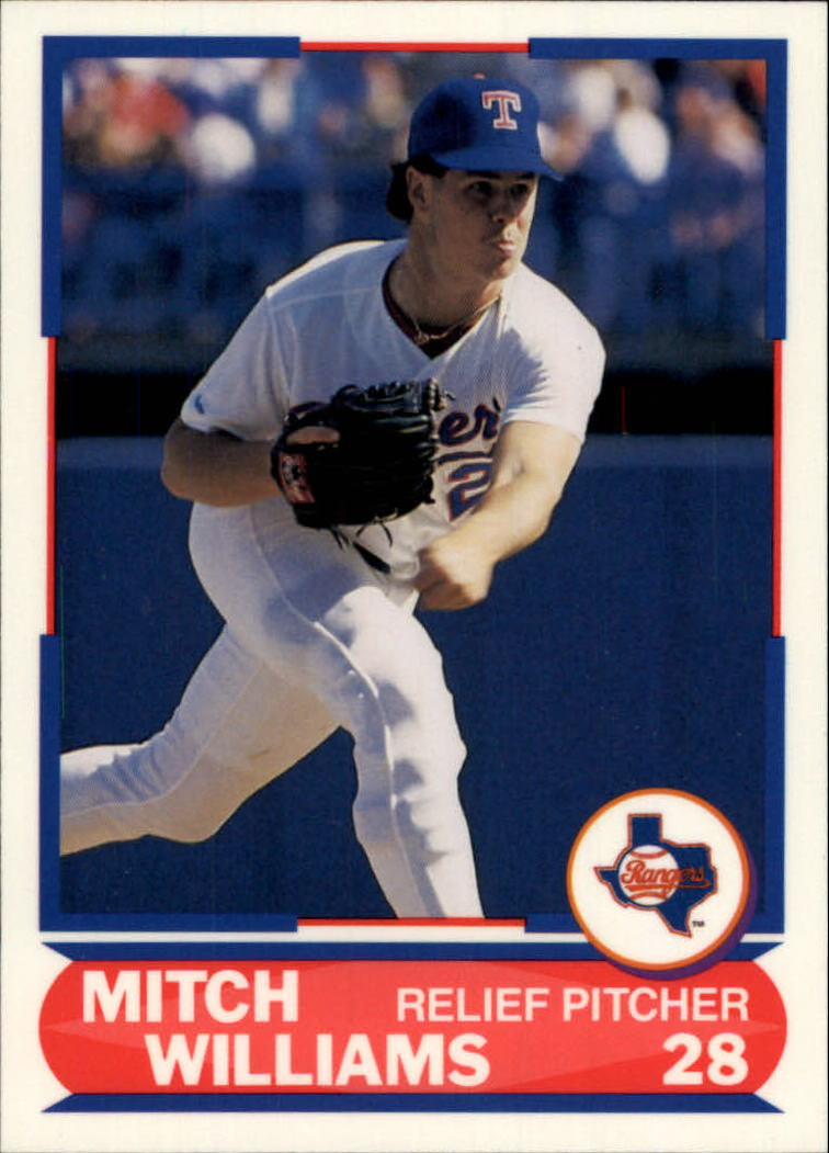 1989 Score Young Superstars I #27 Mitch Williams