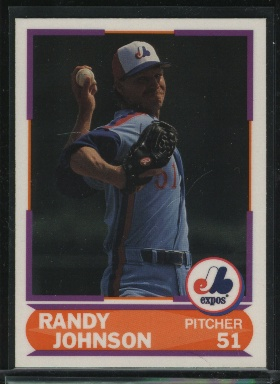 1989 Score Young Superstars II #32 Randy Johnson