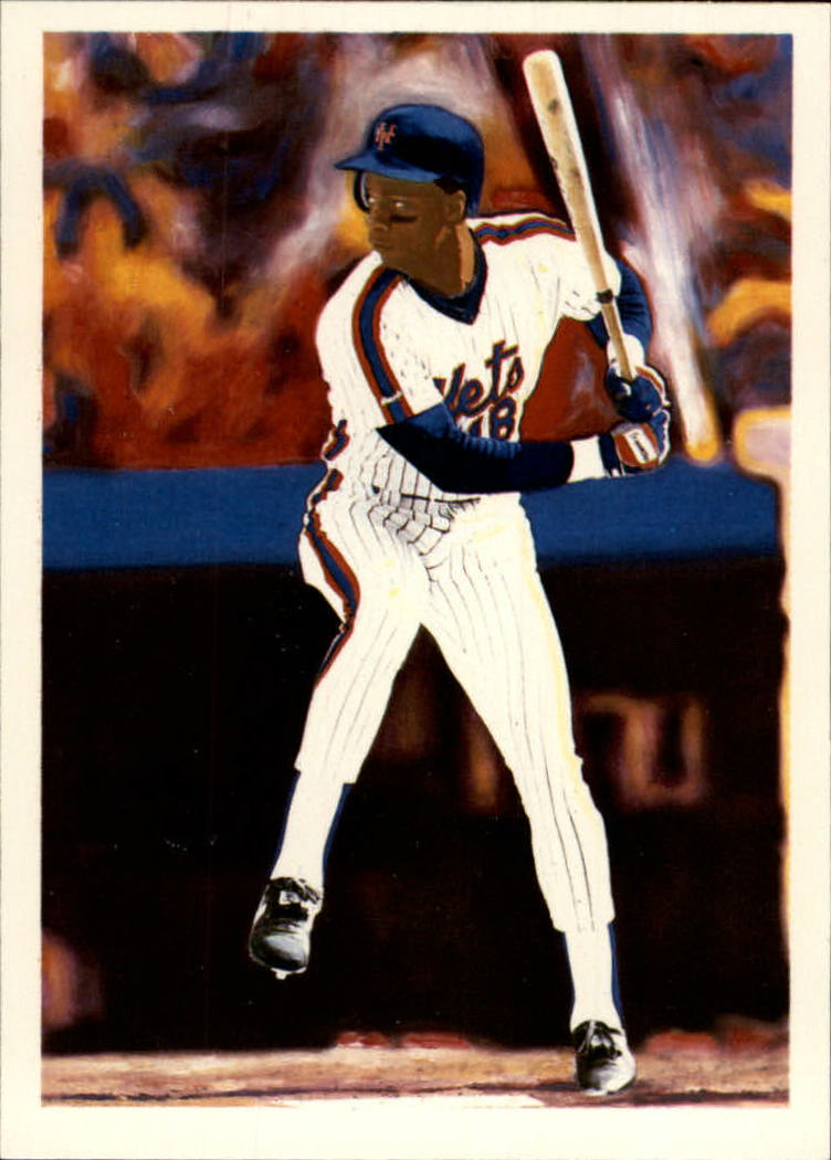 1989 Scoremasters #42 Darryl Strawberry