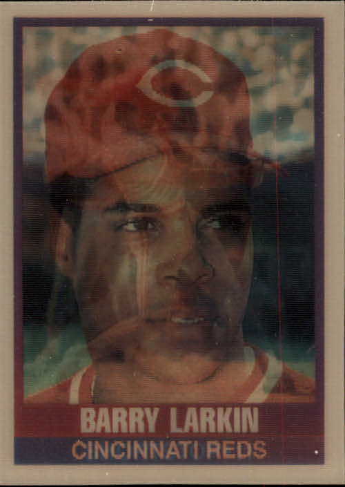 1989 Sportflics #136 Barry Larkin