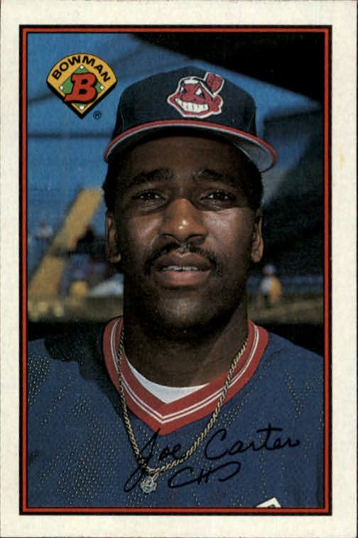 1989 Bowman #91 Joe Carter