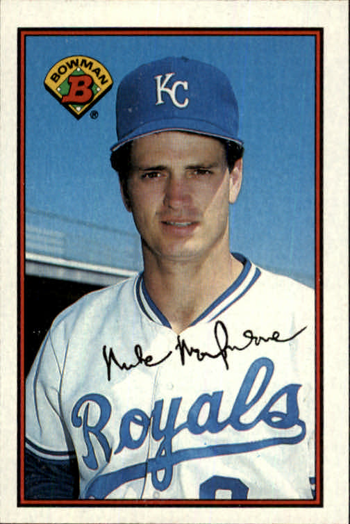 1989 Bowman #118 Mike Macfarlane RC *