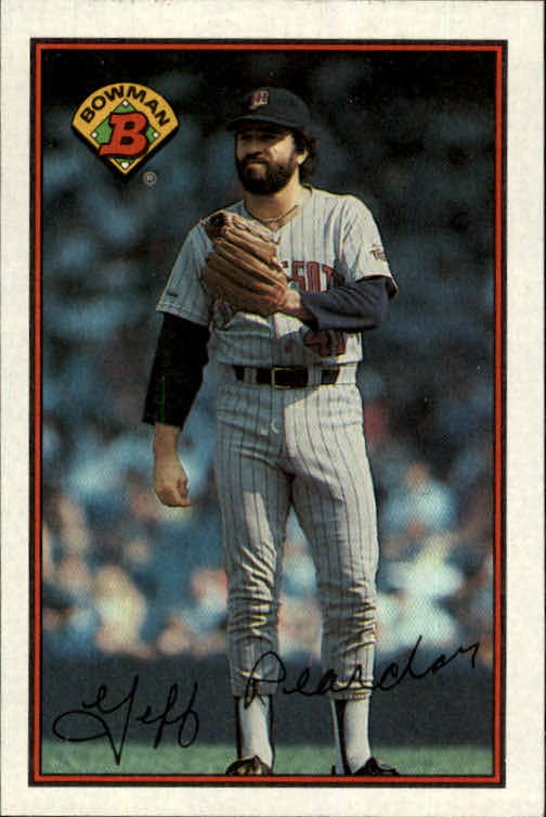 1989 Bowman #148 Jeff Reardon