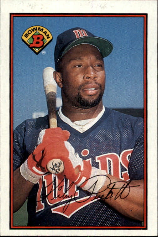 1989 Bowman #162 Kirby Puckett