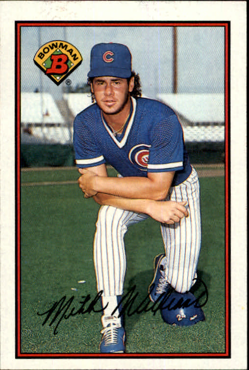 1989 Bowman #283 Mitch Williams