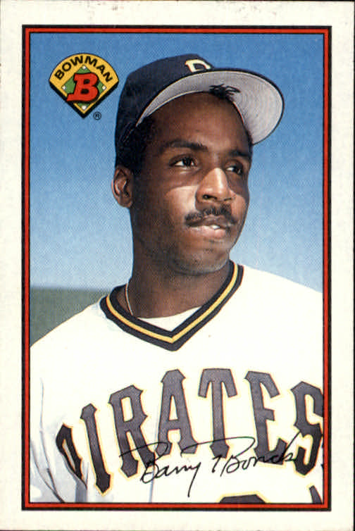 1989 Bowman #426 Barry Bonds