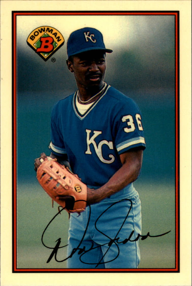 1989 Bowman Tiffany #115 Tom Gordon UER