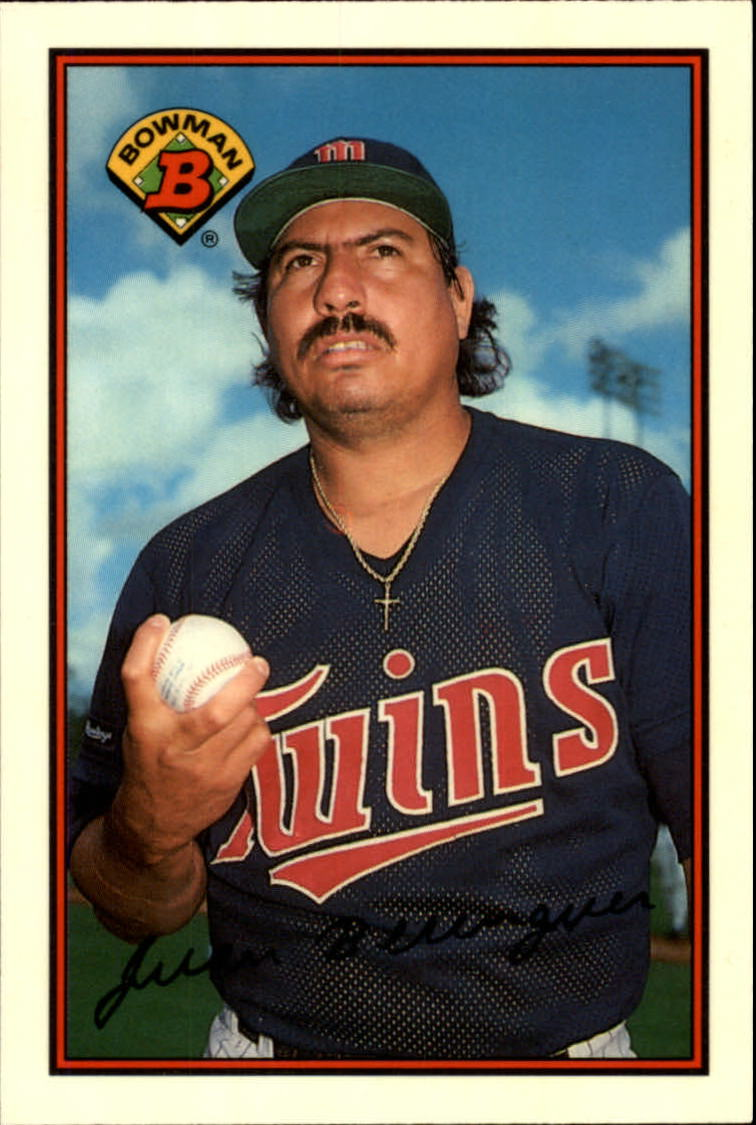1989 Bowman Tiffany #152 Juan Berenguer