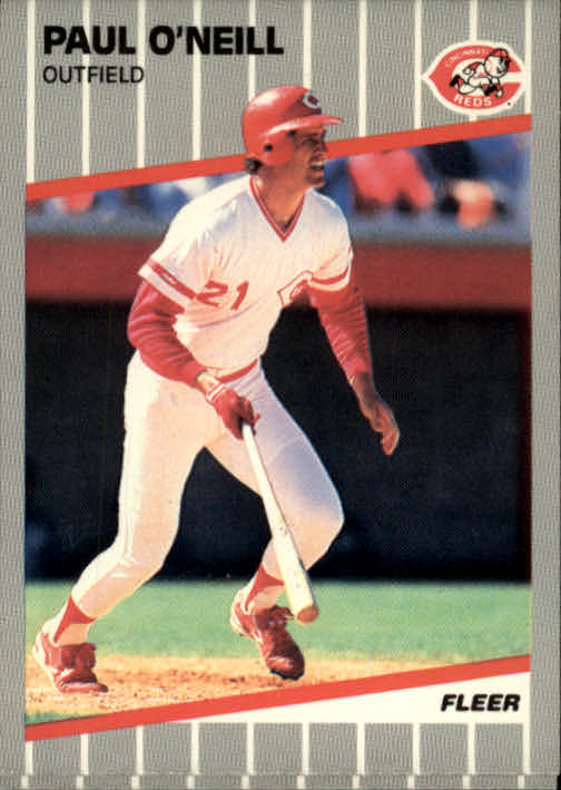 1989 Fleer #166 Paul O'Neill front image