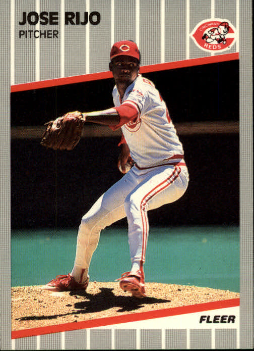 1989 Fleer #168 Jose Rijo