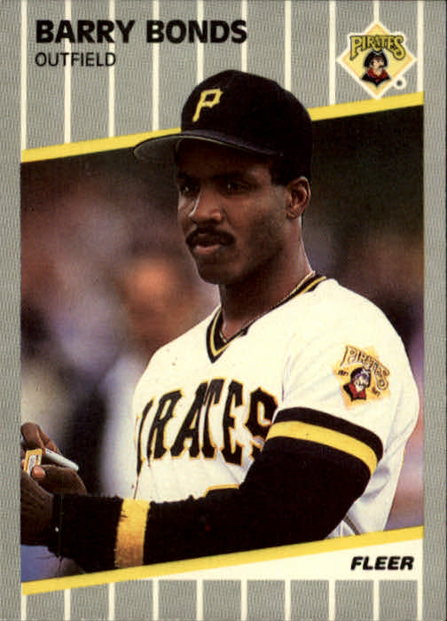 1989 Fleer #202 Barry Bonds front image
