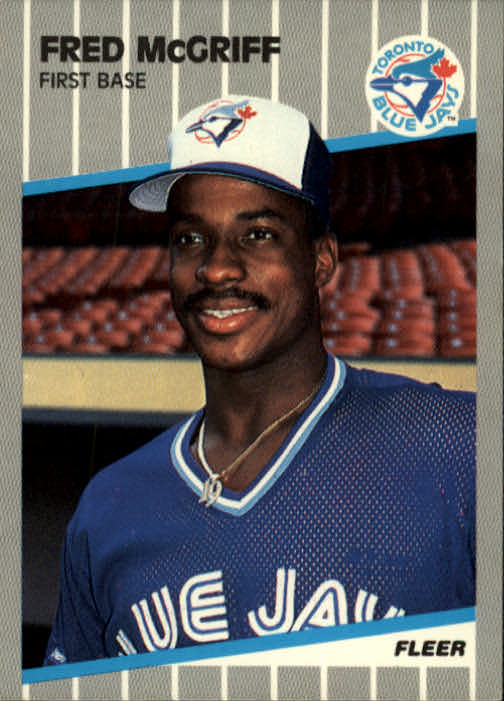 1989 Fleer #240 Fred McGriff