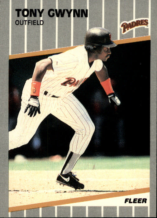 1989 Fleer #305 Tony Gwynn