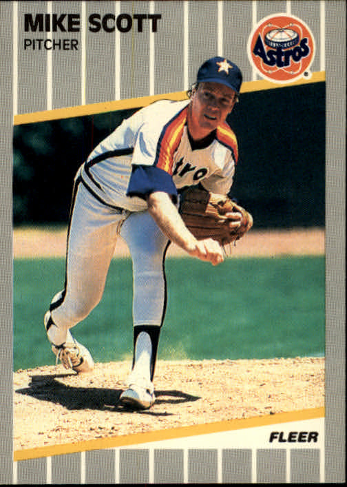 1989 Fleer #367 Mike Scott