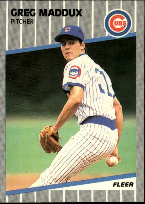 1989 Fleer #431 Greg Maddux