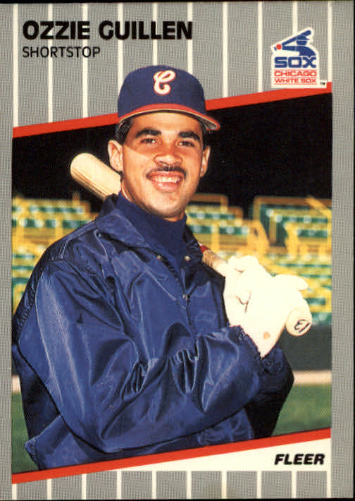 1989 Fleer #497 Ozzie Guillen