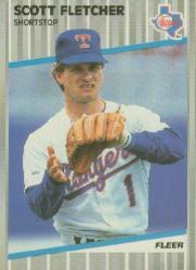1989 Fleer #518 Scott Fletcher